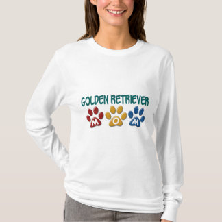GOLDEN RETRIEVER Mom Paw Print 1 T-Shirt