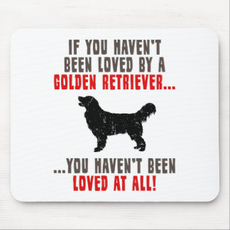 Golden Retriever Mouse Pads