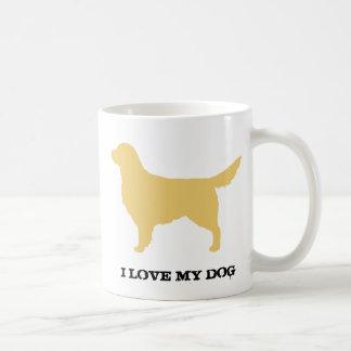 Golden Retriever Basic White Mug