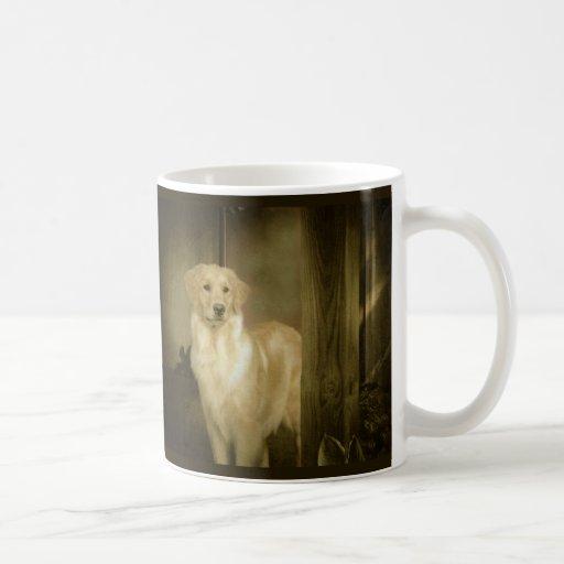 Golden Retriever Mug Lady In Waiting