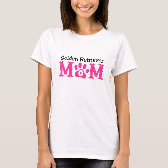 Golden Retriever Mum Apparel T-Shirt