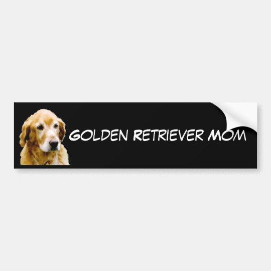 Golden Retriever Mum Bumper Sticker