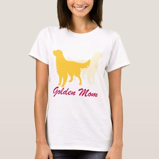 Golden Retriever Mum T-Shirt