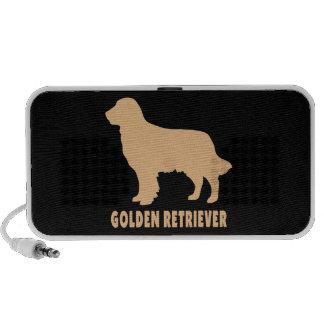 Golden Retriever Notebook Speakers