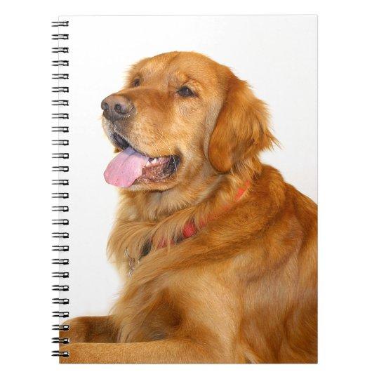 Golden Retriever Notebooks