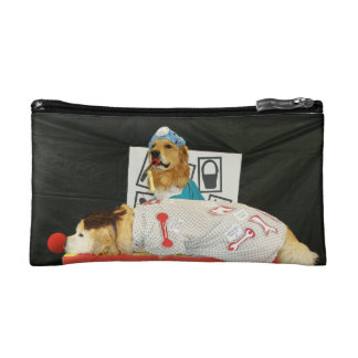 Golden Retriever Operation Cosmetic Bag
