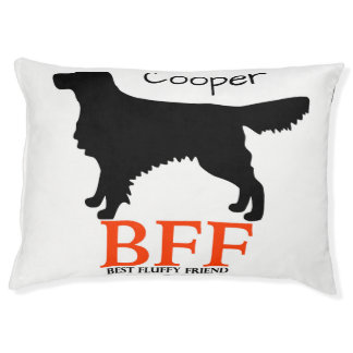 Golden Retriever Personalized Doggie Bed