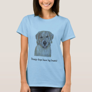 Golden Retriever Pet Therapy Dog T-Shirt