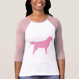 Golden Retriever (pink) Tshirts