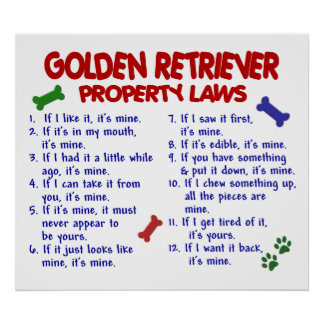 GOLDEN RETRIEVER PL2 POSTERS