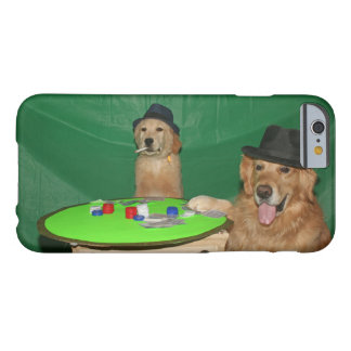 Golden Retriever Poker Pups Barely There iPhone 6 Case