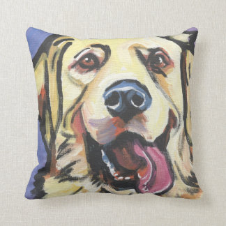 Golden Retriever Pop Art Pillow- too cool! Cushion