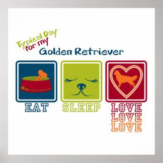 Golden Retriever Print