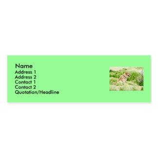 Golden Retriever Profile Card Business Cards