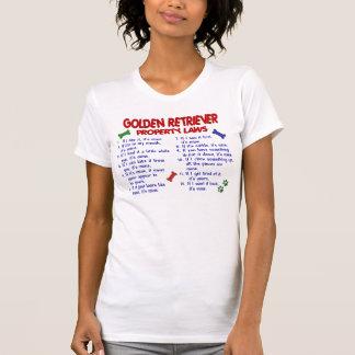 Golden Retriever Property Laws 2 T-Shirt