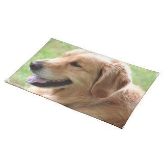 Golden Retriever Pup Placemat