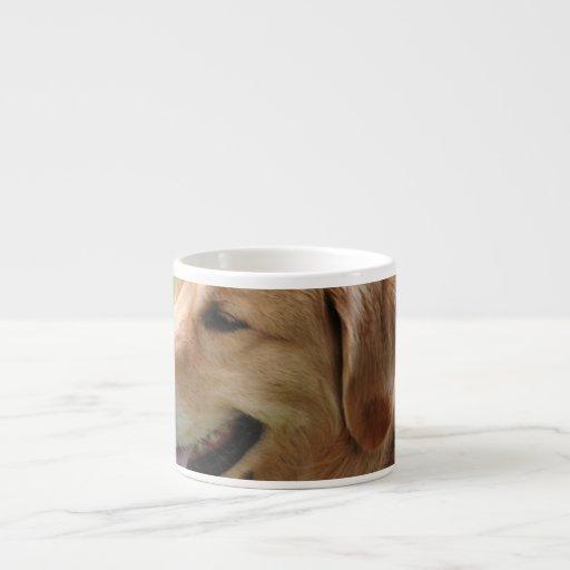 Golden Retriever Pup Specialty Mug Espresso Mug