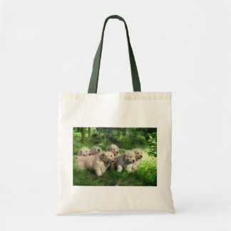 Golden Retriever Puppies Tote Bag