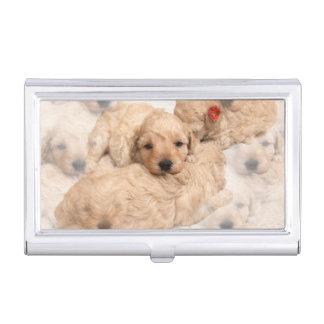 golden-retriever-puppy-2 business card holder