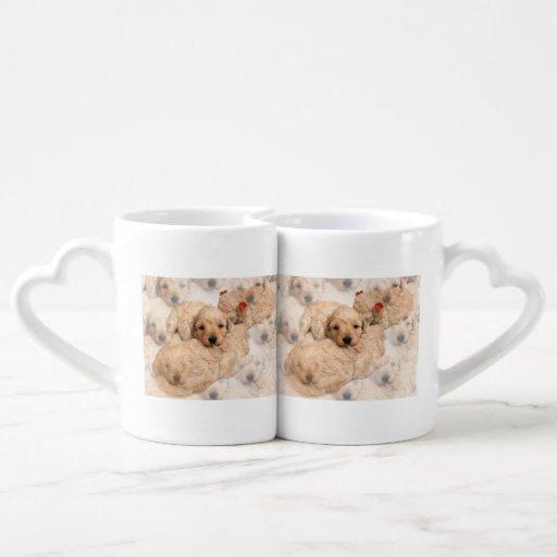 golden-retriever-puppy-2 couples mug