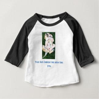 Golden retriever puppy baby shirt, baby T-Shirt
