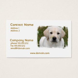 Golden Retriever Puppy Business Card