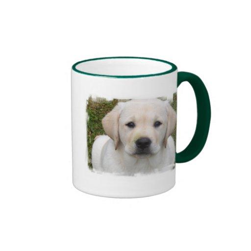 Golden Retriever Puppy Ceramic Coffee Mug