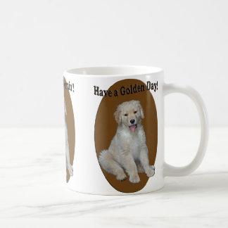Golden Retriever Puppy Cheery Mug