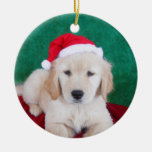 Golden Retriever Puppy Christmas Tree Ornament
