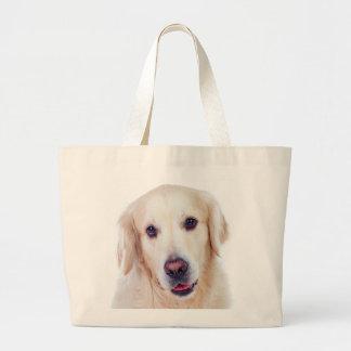 Golden Retriever Puppy Dog Canine Love Tote