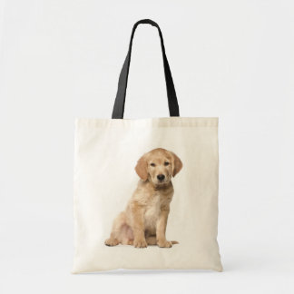 Golden Retriever Puppy Dog Tote Bag