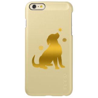 Golden Retriever Puppy in Snow iPhone 6 Plus Case