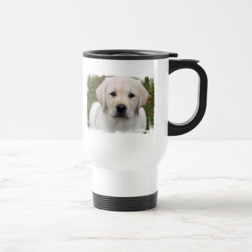 Golden Retriever Puppy PlasticTravel Mug