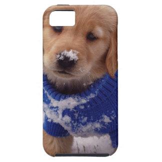 Golden Retriever Puppy Tough iPhone 5 Case