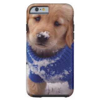 Golden Retriever Puppy Tough iPhone 6 Case