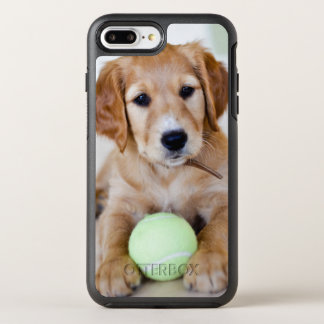 Golden Retriever Puppy Wants To Play OtterBox Symmetry iPhone 8 Plus/7 Plus Case