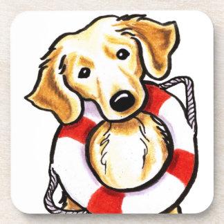 Golden Retriever Rescue Coaster