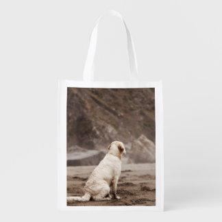 Golden Retriever Reusable Bag