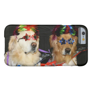 Golden Retriever Rock Stars Barely There iPhone 6 Case