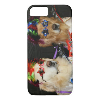 Golden Retriever Rock Stars iPhone 7 Case
