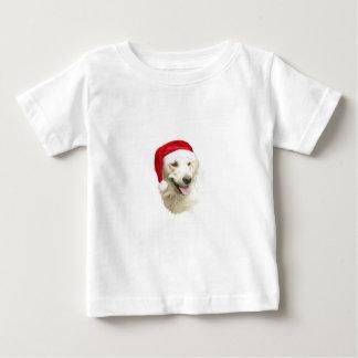 Golden Retriever Santa Baby T-Shirt