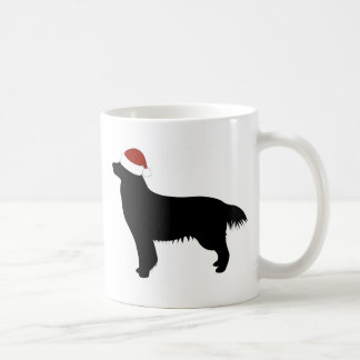 Golden Retriever Santa Hat Coffee Mug