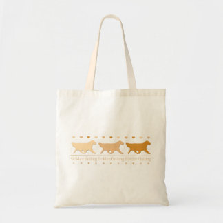 Golden Retriever Small Tote Bag