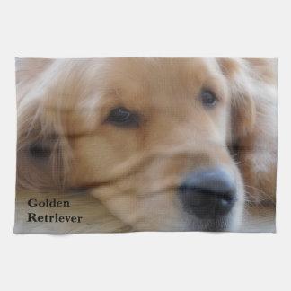 Golden Retriever Tea Towel