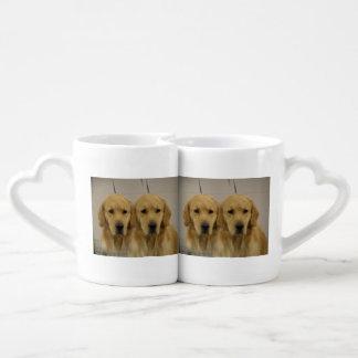 Golden Retriever Twins Lovers Mug
