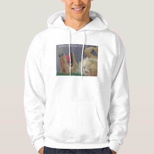 Golden Retriever with Ball Sweatshirt