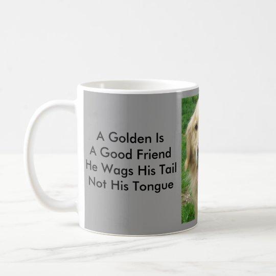 Golden Retriever  With Neat Sayings Mug