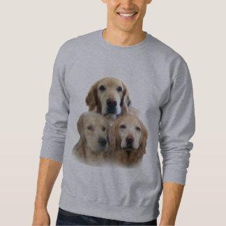 Golden Retrievers Fabulous Faces Sweatshirt