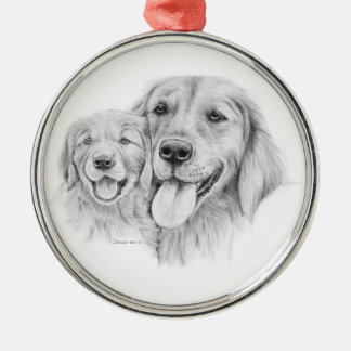 Golden Retrievers Ornament