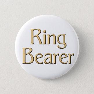 Golden Ring Bearer button